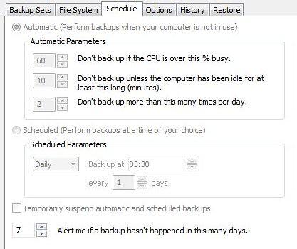 Mozy Backup