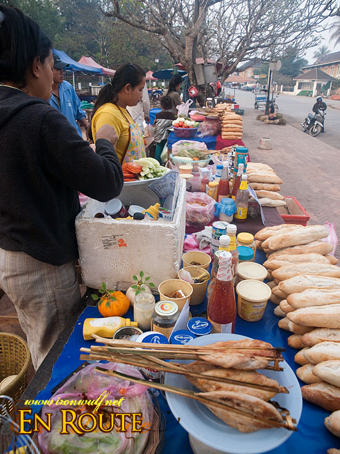 Luang Prabang Street Side Baguette