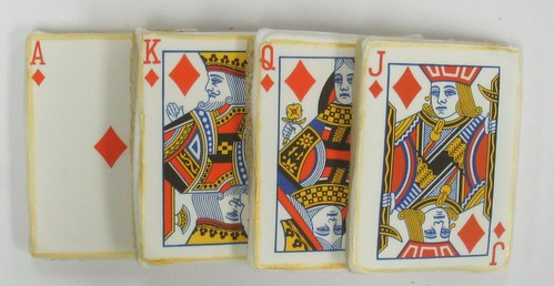 [Image from Flickr]:Casino Card Cookies