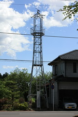 天沼新田の火の見櫓(川越市)