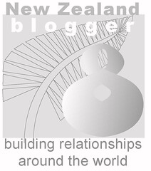 New Zealand Blogger badge