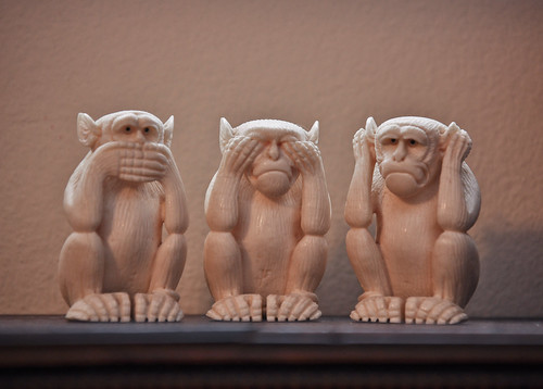 Speak No Evil, See No Evil, Hear No Evil by Alicakes*, on Flickr