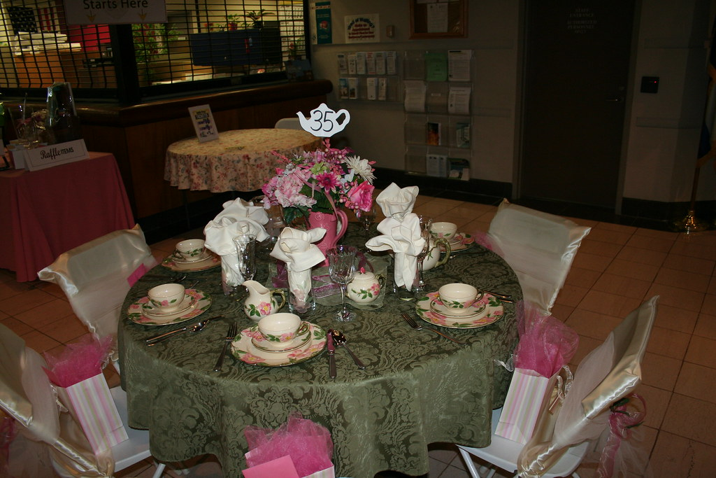 Victorian Table Decorations
