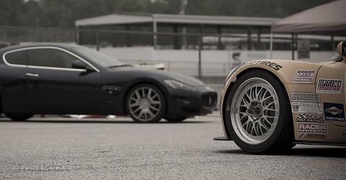 Maserati vs Lotus
