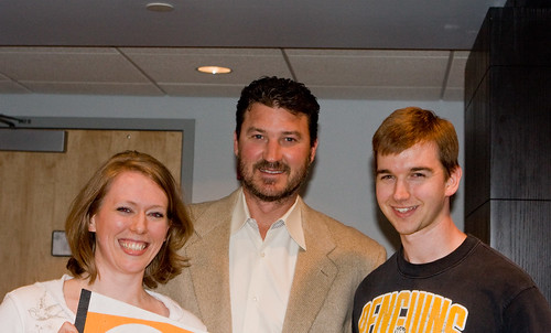 MARIO LEMIEUX and US!  Together!  in the same space.