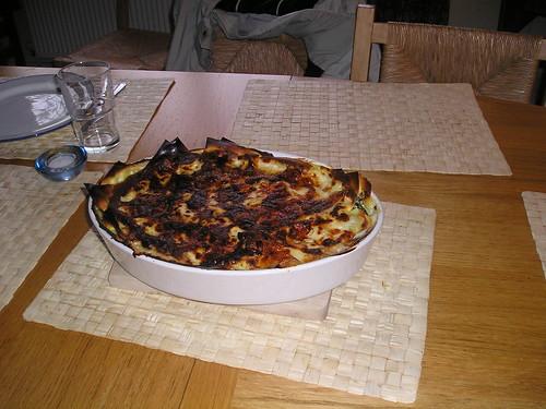 Lasagne...yum!