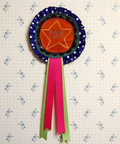 """rockstar"" ribbon"