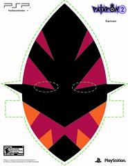 Patapon 2 Mask - Karmen