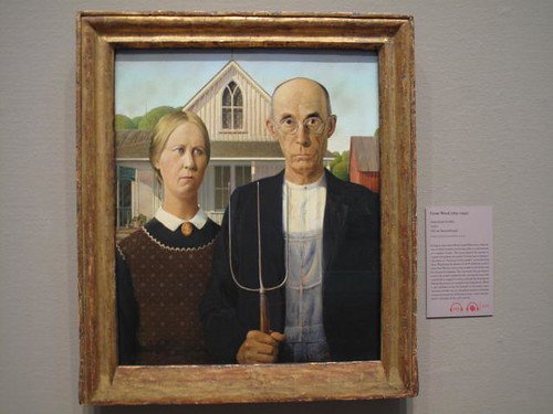 American Gothic at the Chicago Art Institute