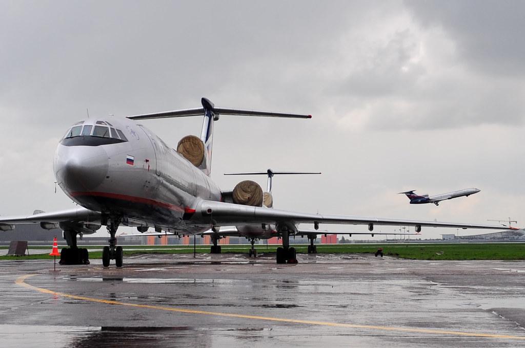 Aeroflot RA-85810 Tupolev Tu-154M