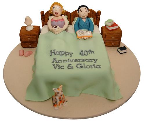 Anniversary Cake Bed