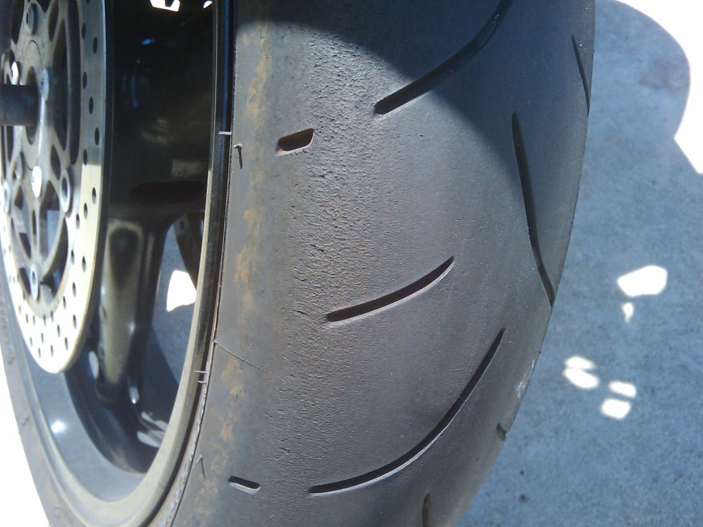SV650s Front Tire