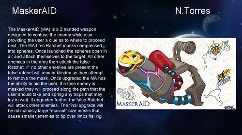 Ratchet & Clank Weapon Contest - MaskerAID