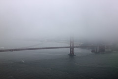 The breathtaking view of the Golden Gate Bridge from Hawk Hill