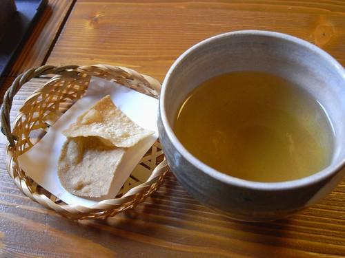 『石臼挽蕎麦 かおく』@天理-07