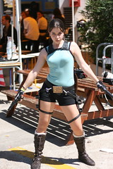 Epitanime 2009 - Lara Croft (Tomb Raider) (fabnol) Tags: anime cosplay tomb manga lara croft convention 2009 raider epitanime