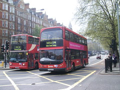 Go-Ahead London General EVL4 and Arriva London VLA42 (gbenviro200) Tags: 2 vovo 74 arriva londongeneral goahead transbus alx400 b7tl vyking mylennium evl4 vla42