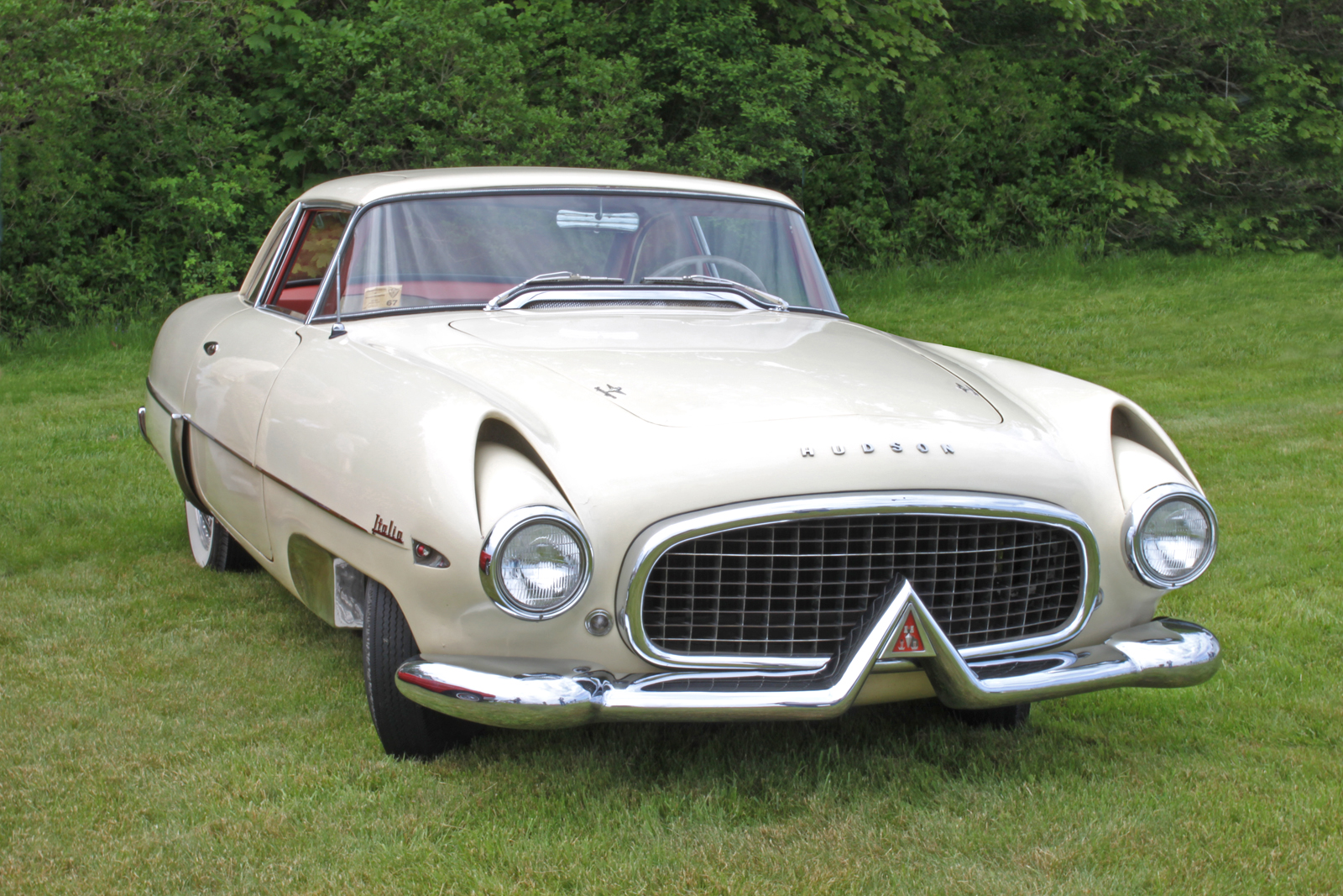 1954 Hudson Italia Superleggera. Source: farm4.static.flickr.com