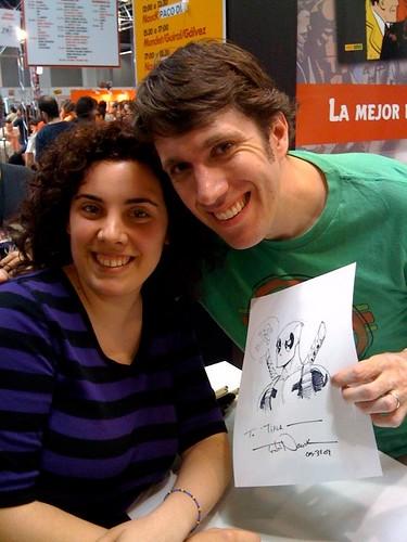 Todd Nauck @ Salón Comic Barcelona
