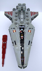 Venator2 (Rogue Bantha) Tags: starwars lego 8039 venator republiccrusier legovenator