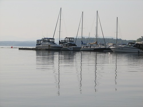 sailboats at the marina