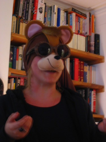Une célèbre bloggeuse déguisée en Ewok