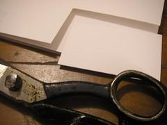 Preparando o papel