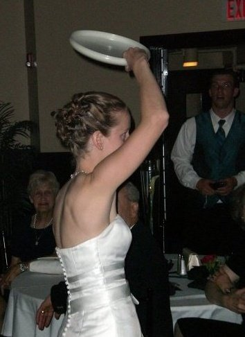 "The ""Bouquet"" Toss"