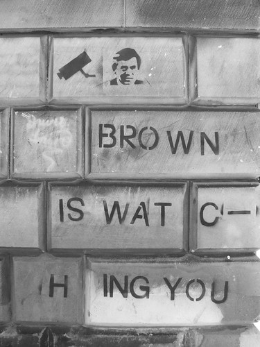 Brown Is Watching You