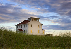 coast guard station (betty wiley) Tags: life station race point coast dusk provincetown guard cape cod
