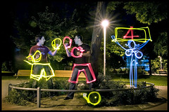 light painting GET IN THE RING (andreas gessl) Tags: vienna wien light lightpainting night painting austria crazy long exposure nacht drawing creative cinematic lichtmalerei twop lightart lightdrawing getinthering lichtmalen lightjunkie christophatteneder florianlanderl