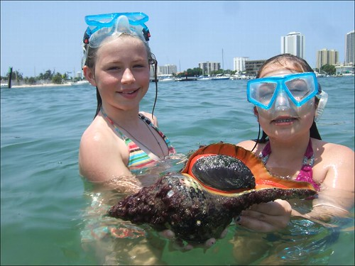 AdventureVictoria and Kelly with Horse Conch