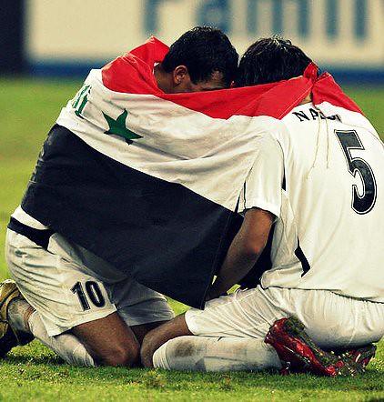 Younis Mahmoud und Nashat Akram