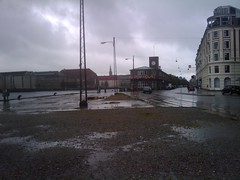 (sabine_butterblume) Tags: rain copenhagen denmark cph dänemark kopenhagen regen customhouse