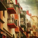I Balconi rossi