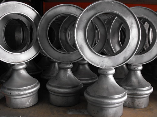 Ring Finial Small hollow for 76mm dia post