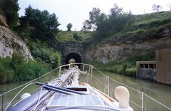 930626 Malpas Tunnel, Canal du Midi (rona.h) Tags: france june 1993 cacique canaldumidi ronah malpastunnel vancouver27