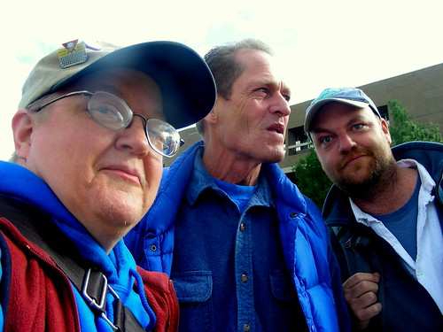 With Phil Munger of Progressive Alaska & Janson Jones of Floridana Alaskiana v2.5. I met both in person for the first time on June 23, 2009 outside the Anchorage Assembly chambers, where public testimony was being heard on the Anchorage equal rights ordinance AO 2009-64.