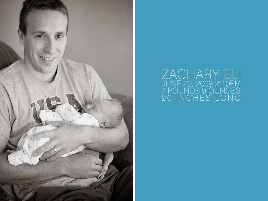 ...baby Zachary...