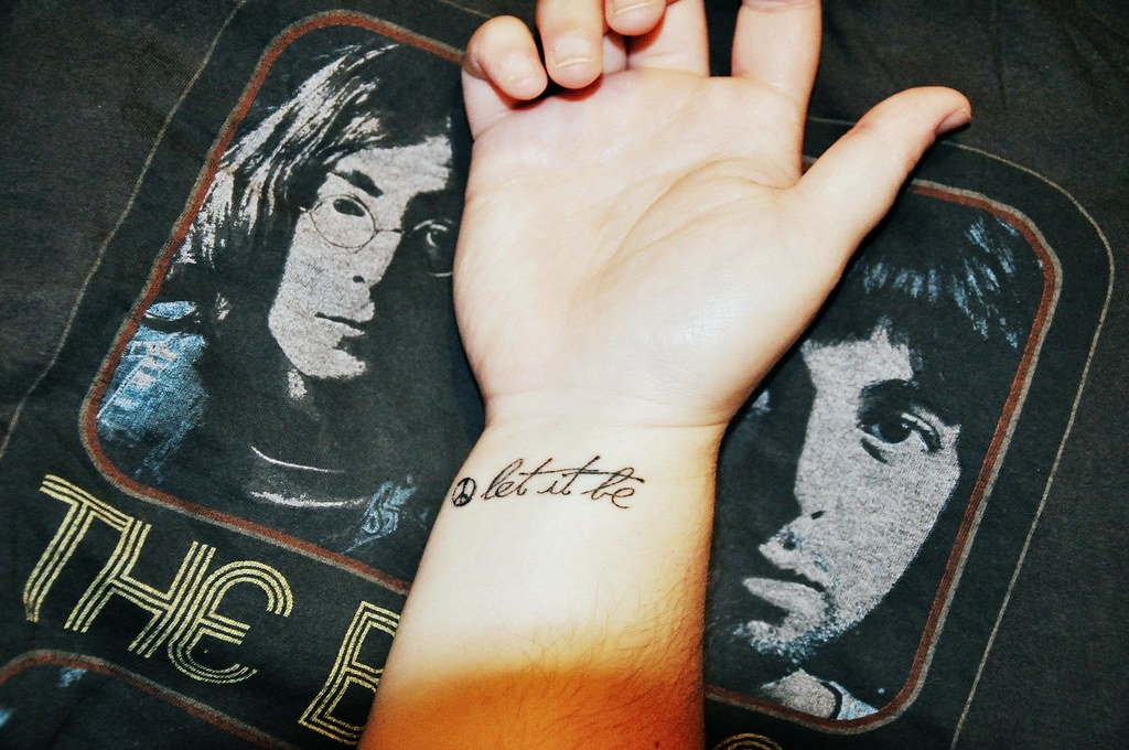 time beatles fan. I saw all the great tattoos and wanted to show mine