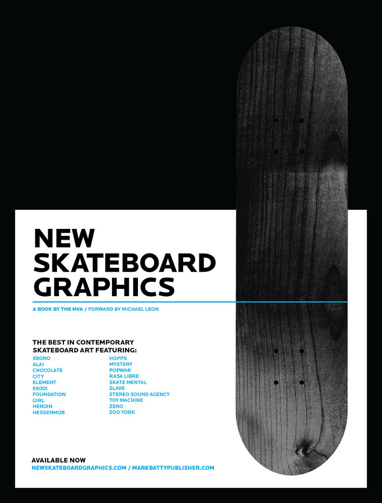 New Skateboard Graphics poster: A-Side