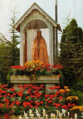 """Gnadenstätte Heroldsbach - """"Mutter Gottes auf dem Podium"""""""