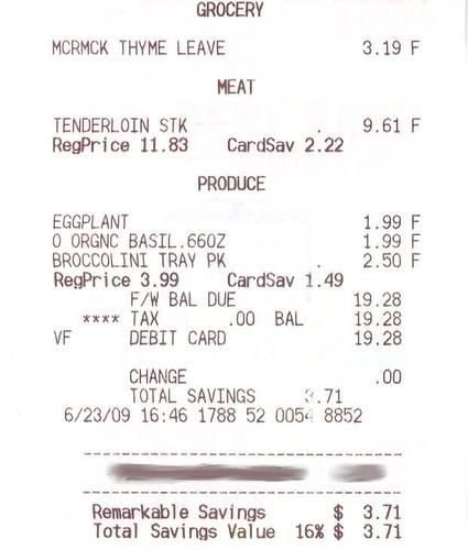 Steak, cheap.