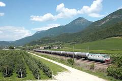 E.633.017 (marvin 345) Tags: railroad italy train tn merci rail locomotive acquaviva railways treno tigre trentino fs elettrico ferrovie benzina motrice e633