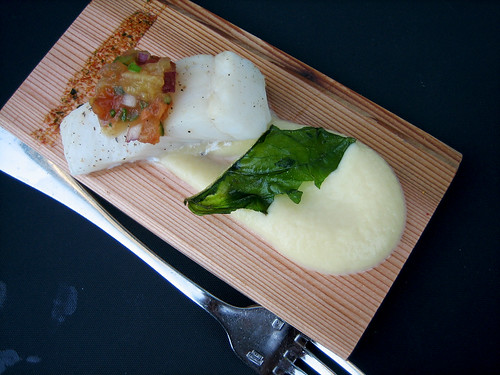 Cedar Planked Halibut