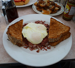 Corned Beef Hash - The Creamery, Palo Alto, CA