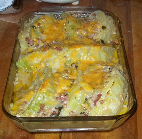 Cabbage Potato Gratin