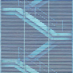 mb-0161 Subliminal (tengtan (away awhile)) Tags: blue lines geometry stripes steps azure structure illusion blinds mirage subliminal hypnotic linear teng opticaleffect opart diagonals tengtan
