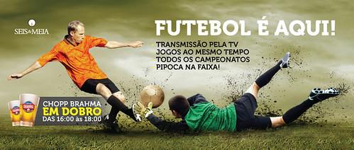 Faixa Seis & Meia - Futebol by chambe.com.br