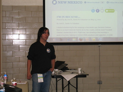 Day 2 OFA NM Summer Organizer Training